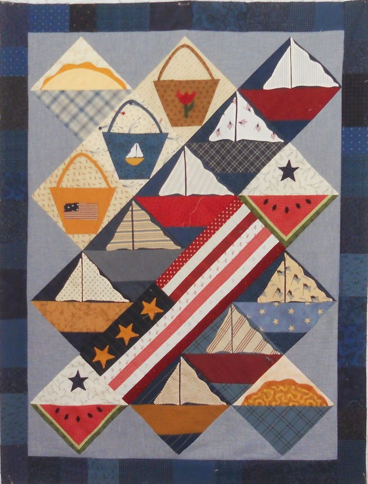Log Cabin Quilter July 2014 Patriotic Pinterest Log