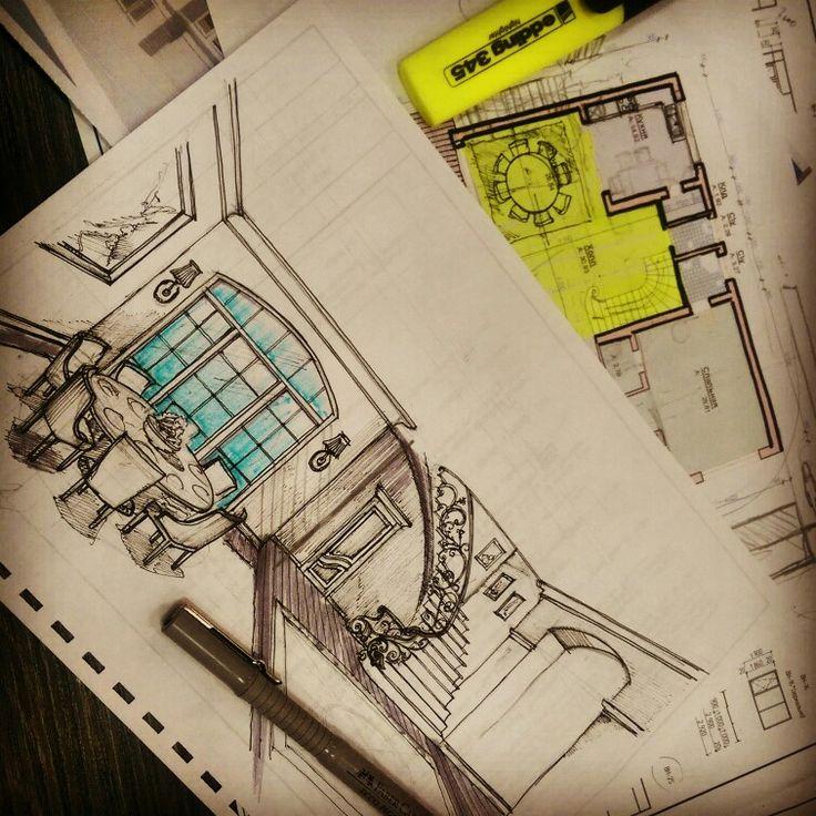 @dakhshaev_ibrahim #проект #арт #арх #архитектура #эскиз #фасад #рендер #дизайн #план #набросок #скетч #здание #архитектор #интерьер  #коттеджи #arch #ar_sketch #arquitetapage #artwork #art #drawing #pen #sketch #illustration #door #architecture #architecturaldetails  #дахшаев #oneb