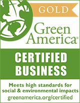 Green America's Green Business Certification, Gold