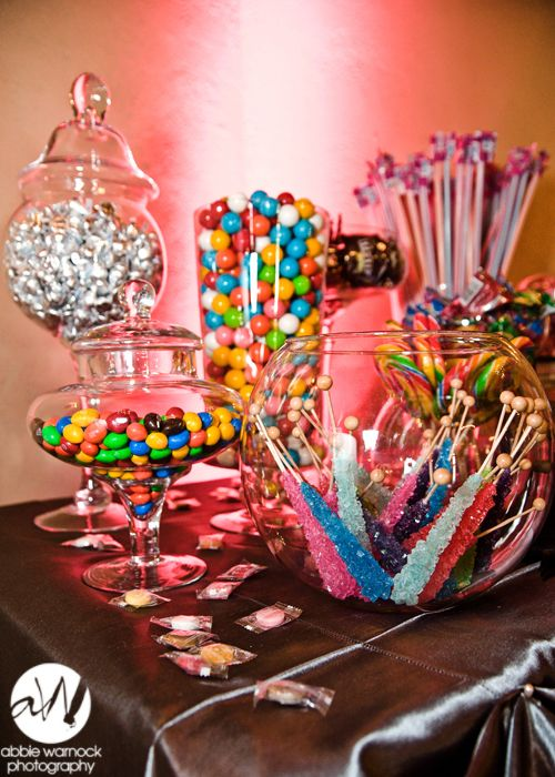 wedding day details ideas favors favor candy table bar mms