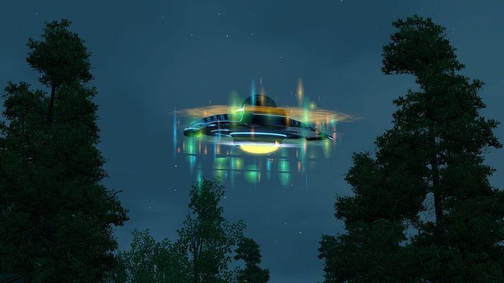 4 Самых Огромных НЛО Зафиксированных в Мире