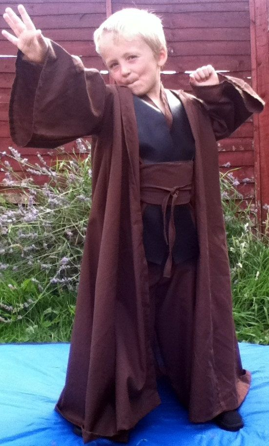 handmade anakin skywalker robes kids handmade jedi robes