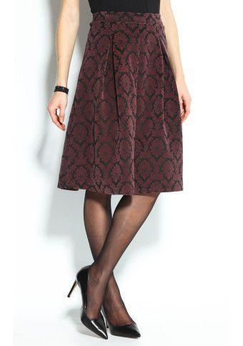 Skládaná sukně s potiskem #ModinoCZ
