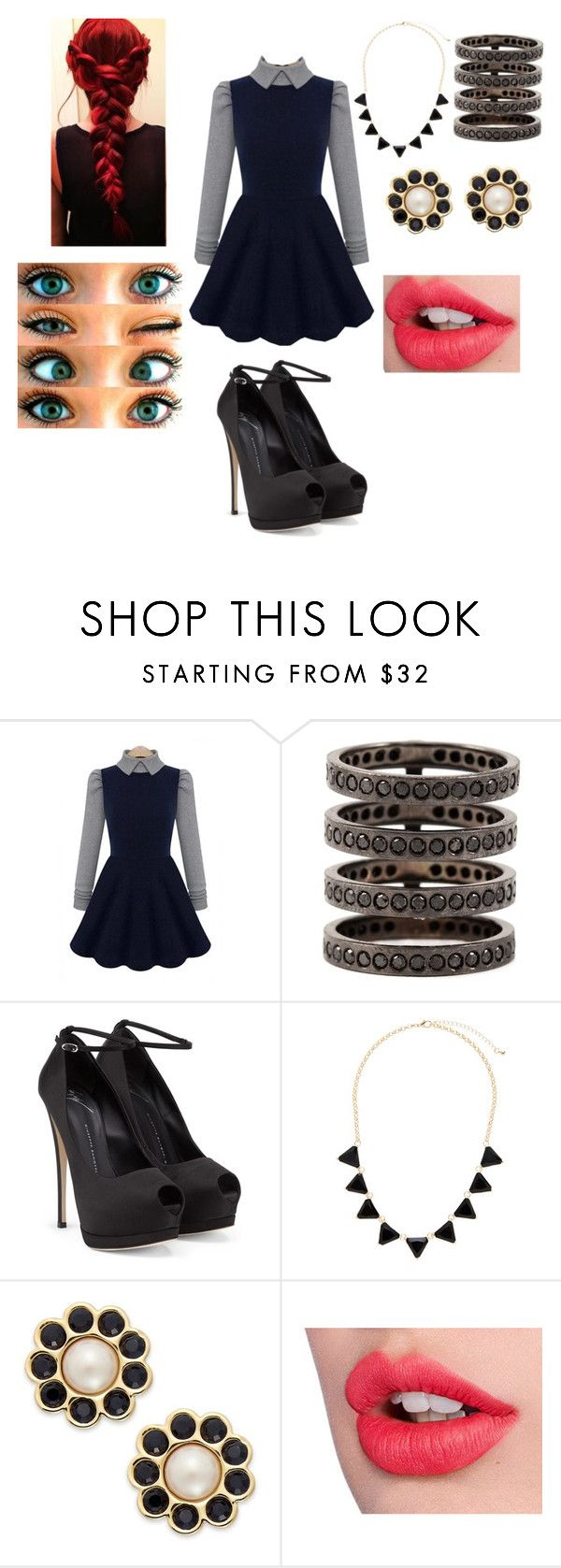 """""""""""Do you know how hard I try to become what you want me to be?"""" Scars by Allison Iraheta"""" by danilennox ❤ liked on Polyvore featuring Repossi, Giuseppe Zanotti, Sparkling Sage, Kate Spade, Charlotte Tilbury, women's clothing, women, female, woman and misses"""