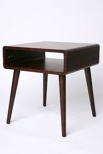 danish modern side table - great for living room or as a nightstand