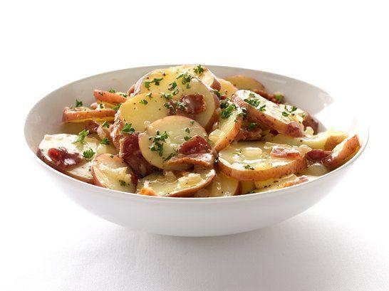Ensalada de Papa Caliente a la Alemana. German Hot Potato Salad