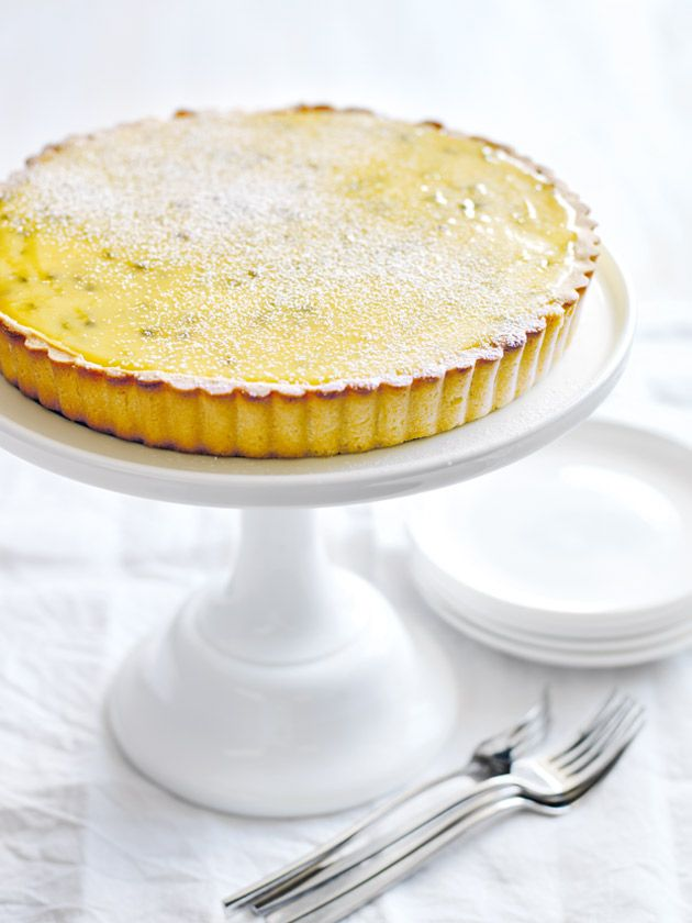 passionfruit curd tart: https://www.donnahay.com.au/recipes/desserts-and-baking/passionfruit-curd-tart