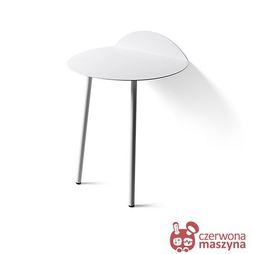 Stolik ścienny Menu Yeh 53 cm, biały - CzerwonaMaszyna.pl