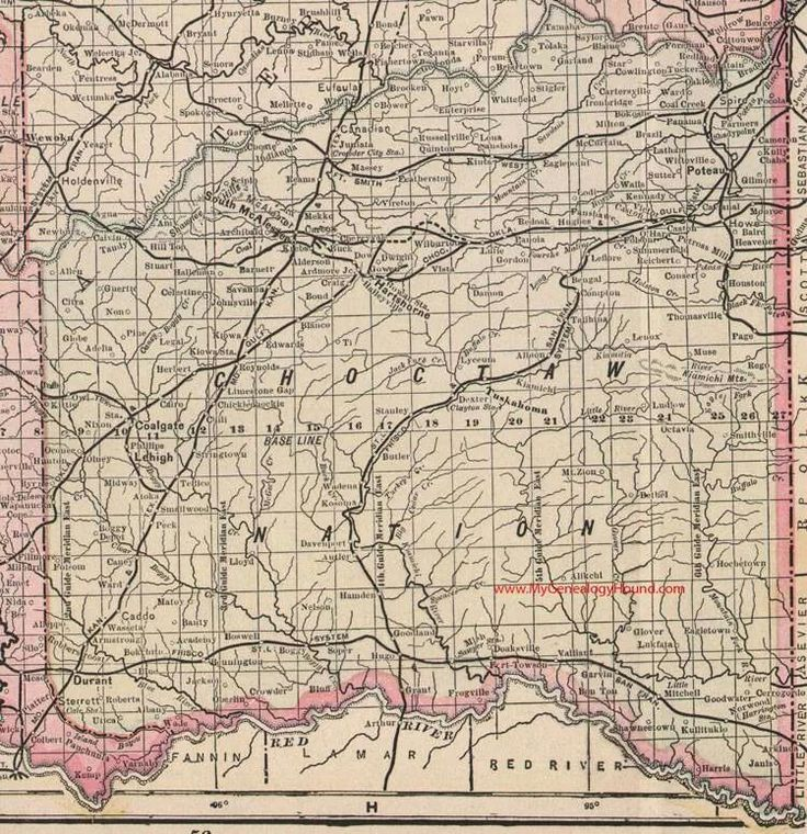 Choctaw Indian Nation 85 best Maps images