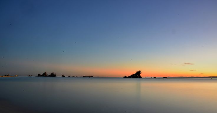 Sunset Tangalooma Wrecks, Queensland, Australia by Lance Rutherford on 500px