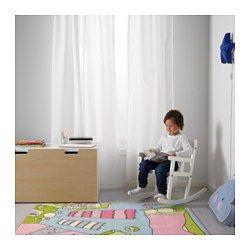 SUNDVIK Mecedora para niños, blanco - - - IKEA