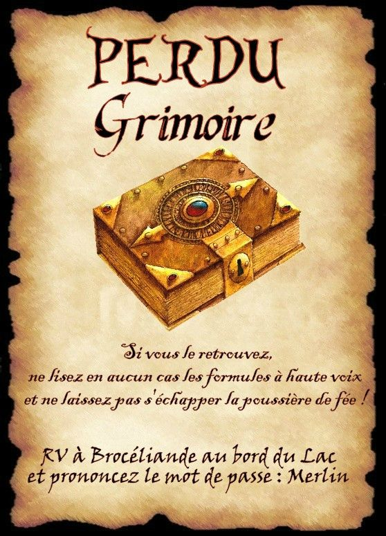 Grimoire                                                                                                                                                                                 Plus