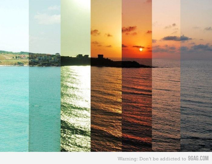 7 different hours.Beauty: At The Beaches, Picture, Port Portugal, Timelapse, The Ocean, Sunsets, Time Lapse, Cool Ideas, Photo