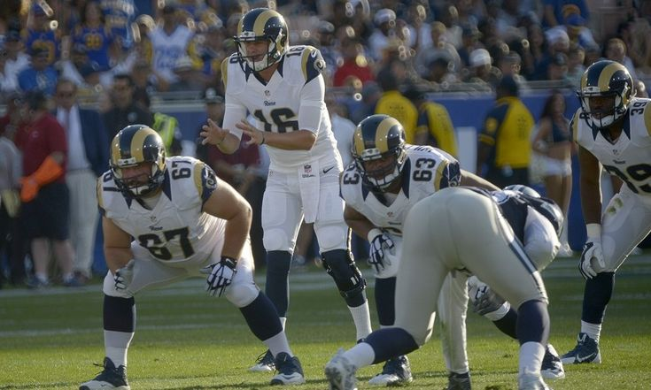 """Rams' Jared Goff likely to play with first team this week = Los Angeles Rams prized rookie quarterback Jared Goff may get his first preseason action with the first unit this week against the Kansas City Chiefs, according to head coach Jeff Fisher.  """"I'd like to get Jared some....."""