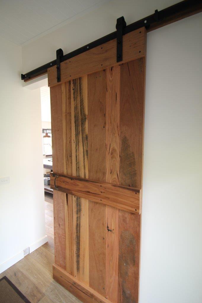 Recycled Hardwood timber door