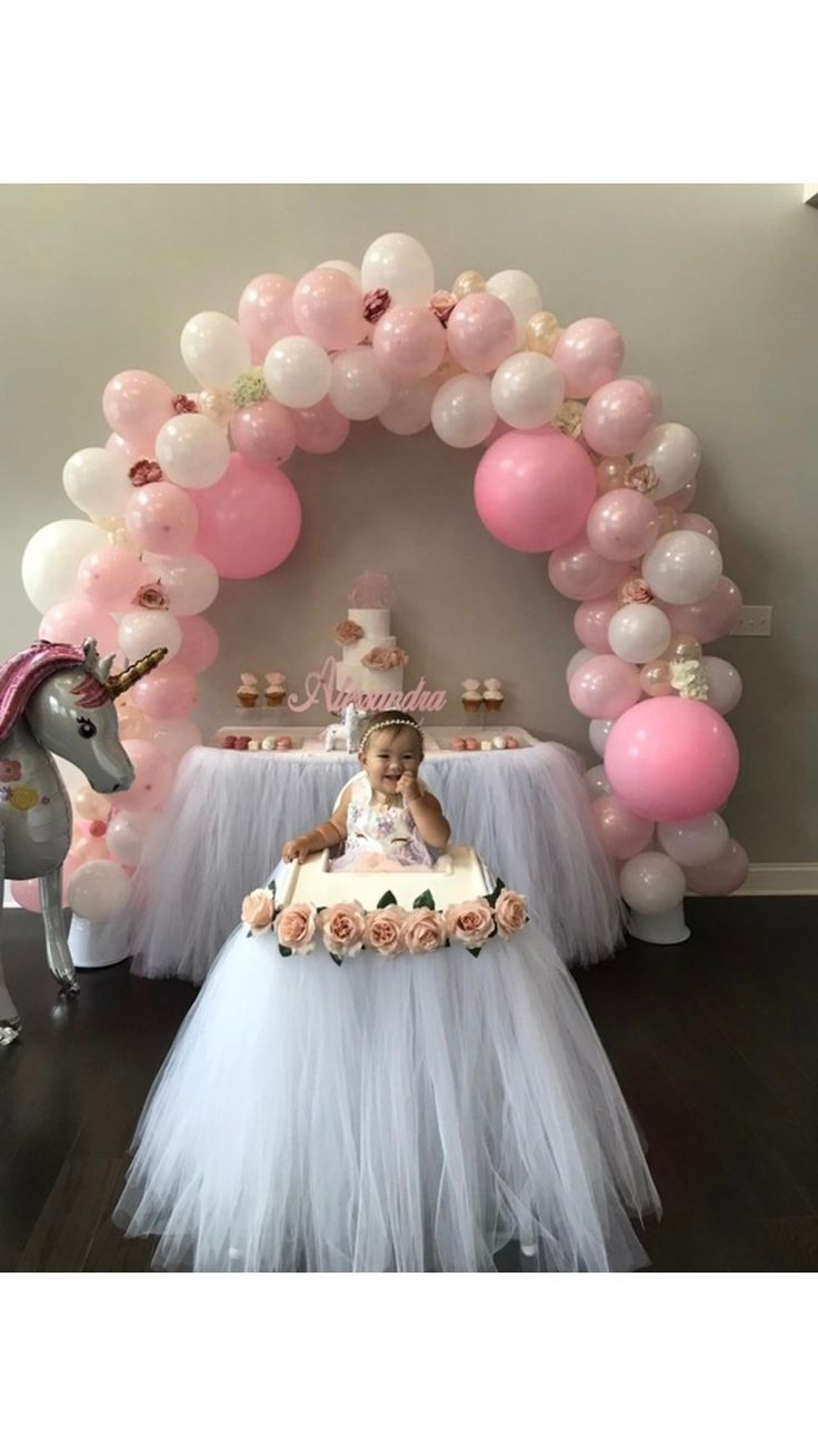 White High Chair Tutu Any Color Girls First Birthday Highchair Banner Skirt Floral Decor Swan 1st Birthday Baptism Smash Cake Girl Birthday Decorations 1st Birthday Party For Girls Birthday Highchair