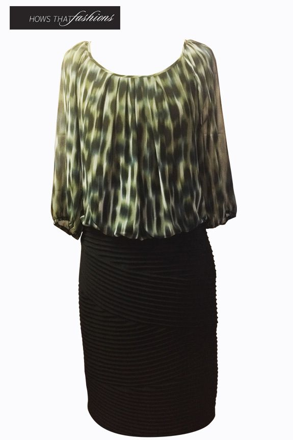 Available at Hows That Fashions Eve Hunter - H4670 $289.00