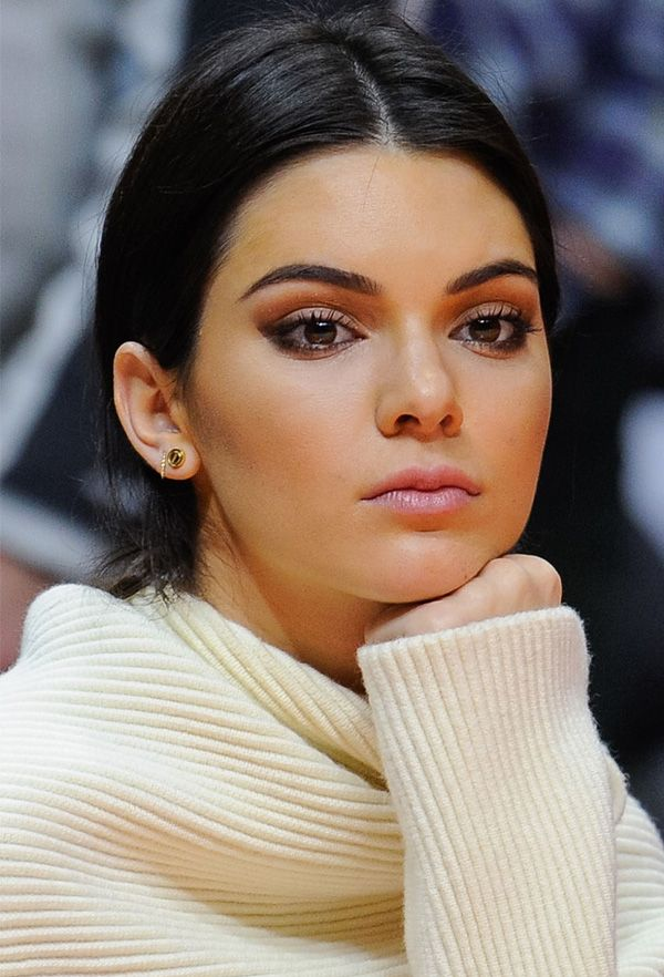 kendall jenner makeup beauty look