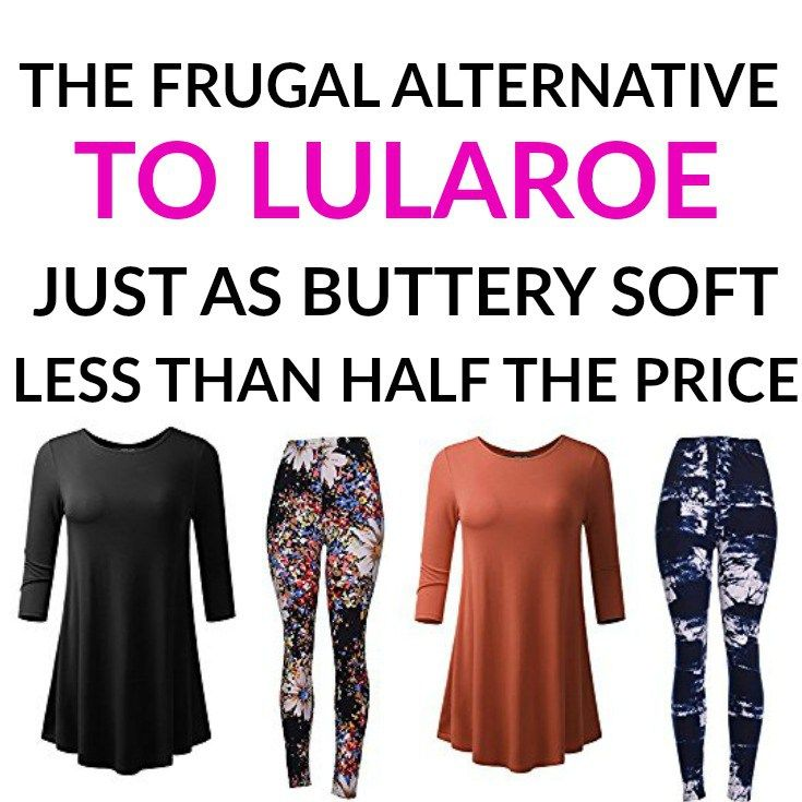 In my search for clothing similar to LuLaRoe but cheaper, I finally hit the jackpot - less than half the price but the same quality!