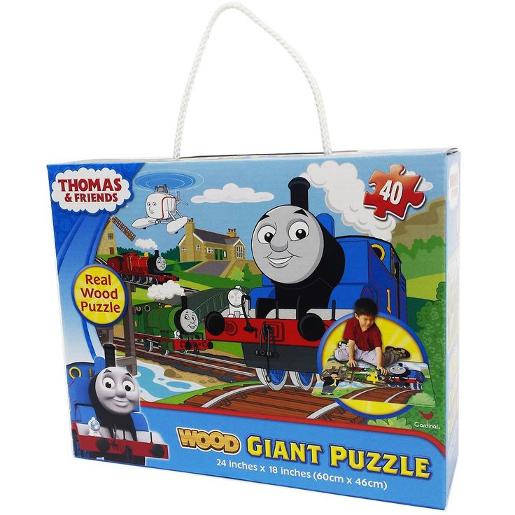 Thomas & Friends Giant 40-pc. Wood Puzzle by Cardinal Games, Multicolor