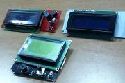 Pantalla LCD en la impresora 3D