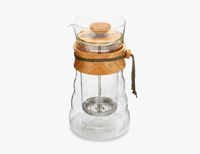 This is the most beautiful French Press we have ever seen !!