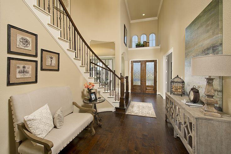 Model Home Foyer Pictures : Cypress creek lakes model home sq ft foyer