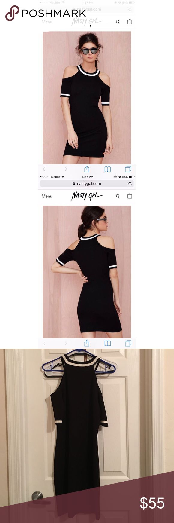 Nast gal dress Worn once! In great condition! Nasty Gal Dresses Mini