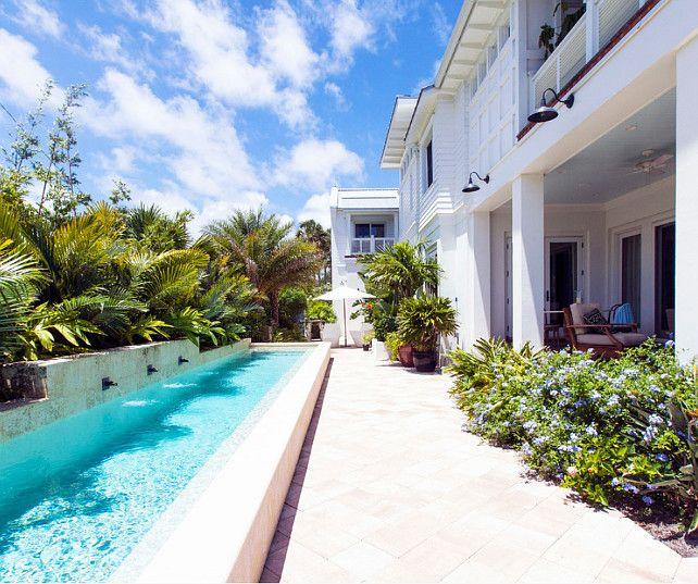 Beautiful Narrow Pool Designs Photos - Amazing House Decorating ...