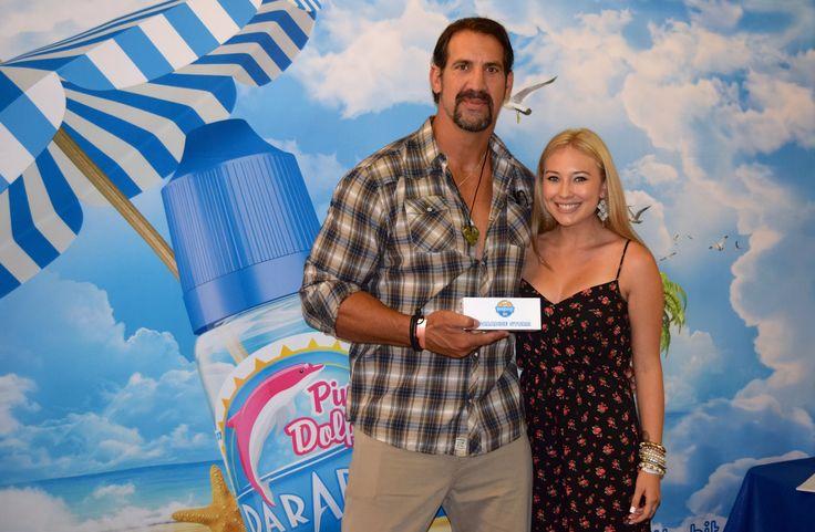 Matt Willig & Amanda Penman #MattWillig #NFLplayer #ParadiseVape #ProductHollywood #Celebrity #GiftSuite #Emmys2014 #AwardsCelebration #VapeLyfe