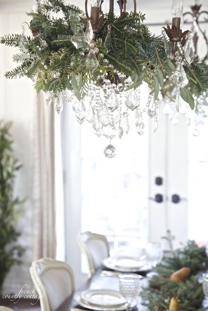 FRENCH COUNTRY COTTAGE: French Country Cottage Christmas Home Tour