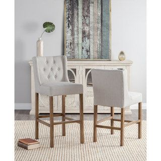 Shop for Cayle Tufted Upholstered 30-inch Barstool by Kosas Home. Get free shipping at Overstock.com - Your Online Furniture Outlet Store! Get 5% in rewards with Club O! - 22554362