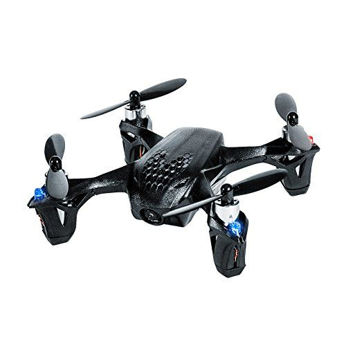 Palmsize remotecontrolled quadcopterTransmitter with 43 LCD FPV screen monitorUp to 7 minutes flying time HUBSAN H107D X4 Quadcopter Drone with FPV Camera (Special Black Edition  Tekstra Brands Exclusive!!) **EXTRA BATTERY INCLUDED**