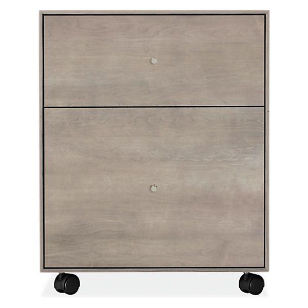 Room U0026 Board   Hudson 19w 20d 24h Rolling File Cabinet Good Looking