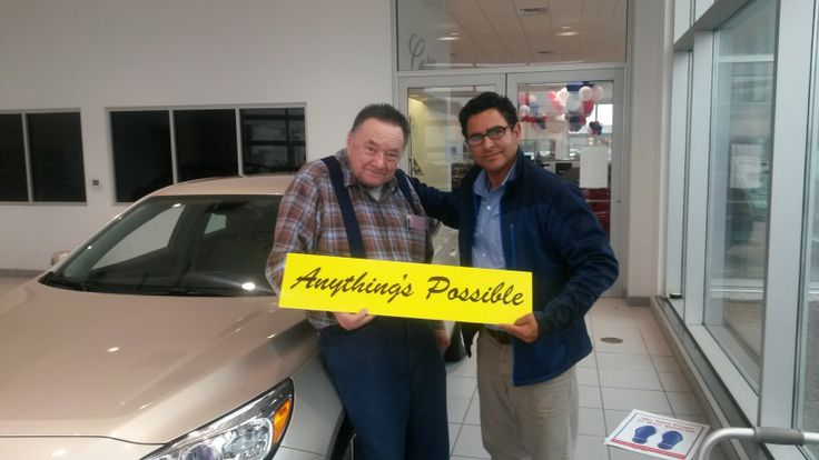 Robert Hamilton, only has bought Chevrolets, traded in a 2003 Chevrolet Impala with 265,103 miles.  He leased a NEW 2014 Chev Malibu.(West Bend) #ProudNewOwner #AnythingsPossible