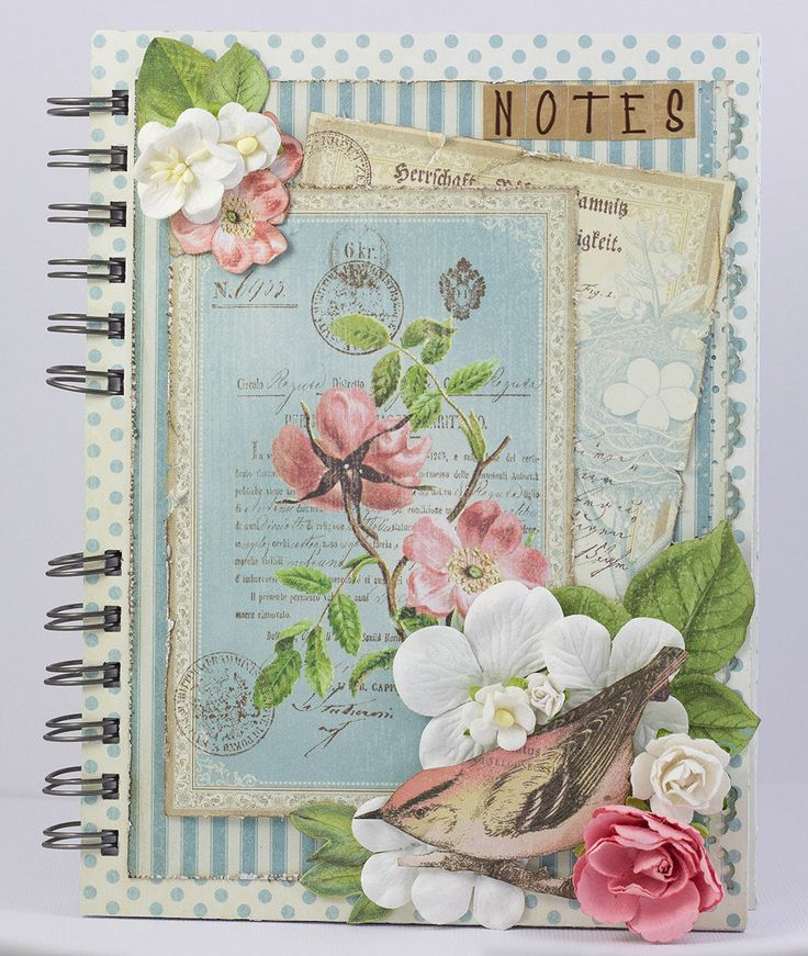 Little Scrap World: Cuaderno con Botanical Tea
