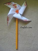 Pentecost Pin-less Pinwheel ~ Symbol of Fire and Wind {For Confirmation} | Catholic Inspired ~Arts, crafts, games, and more!