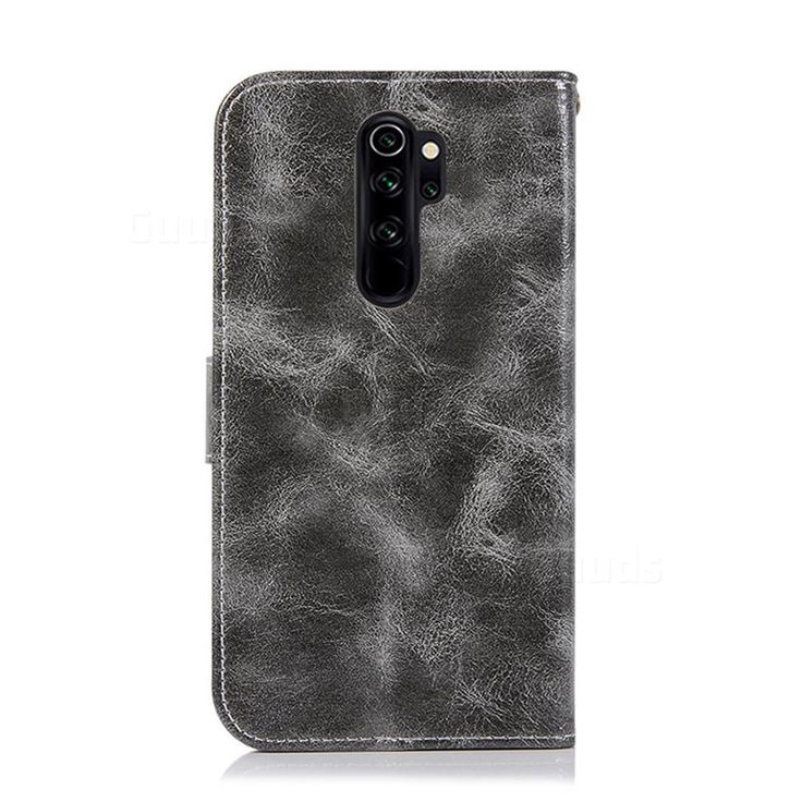Luxury Retro Leather Wallet Case For Mi Xiaomi Redmi Note 8 Pro Gray Guuds Com Wholesale Dropshipping Guuds Redminote8 Redminote8pro Note8tcase In 2020