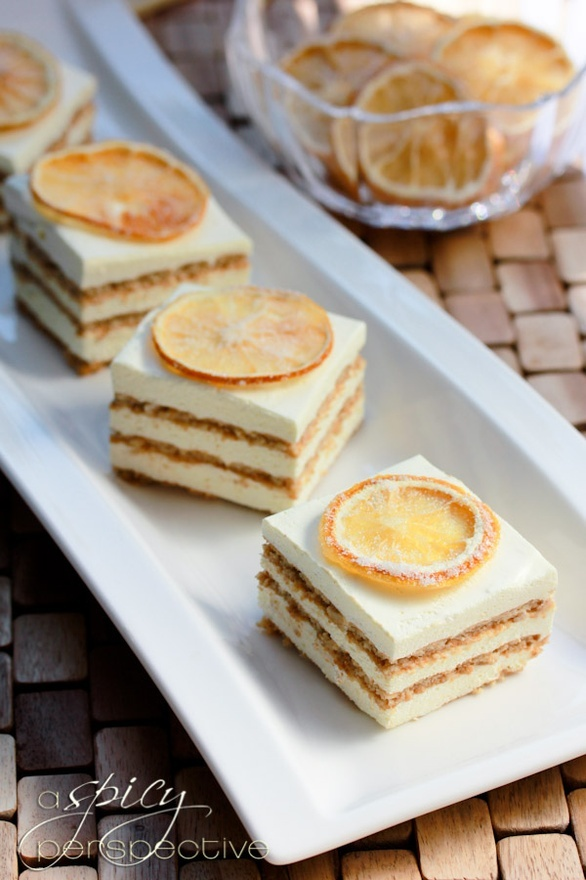 Layered Mousse Cake orange-apricot-pineapple-recipes