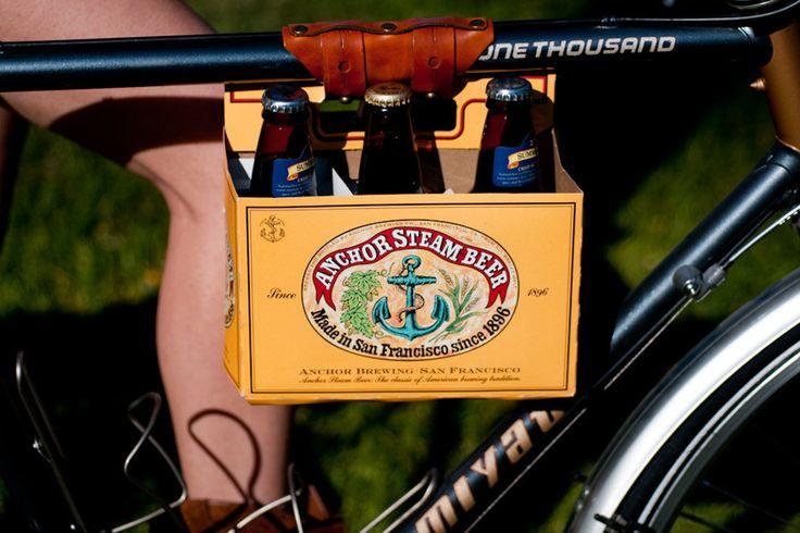 Brown 6 Pack holder