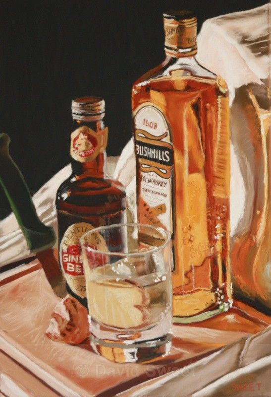 Bush & Fentimans and fresh ginger - Paintings