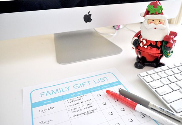 By simply completing a few tasks each week you will be creating yourself an organised and stress free Christmas. Read on for my top tips to be organised this Christmas