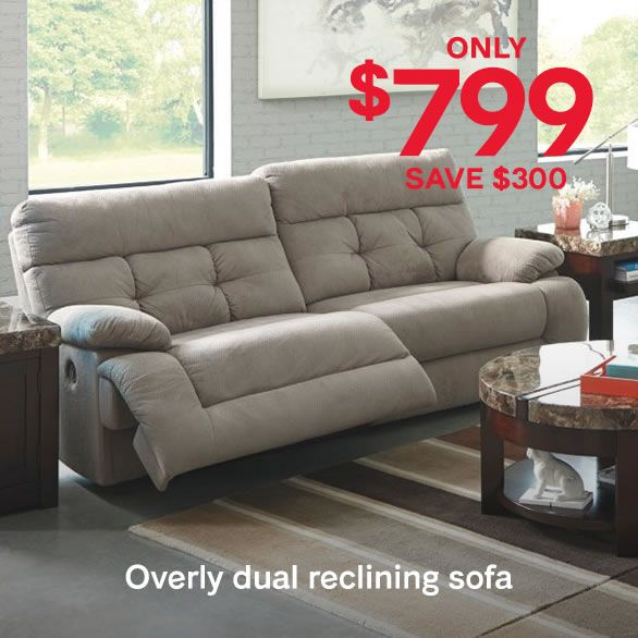 Ashley Furniture HomeStore Black Friday Sale Extended Sofa