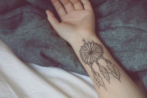 dream catcher ink