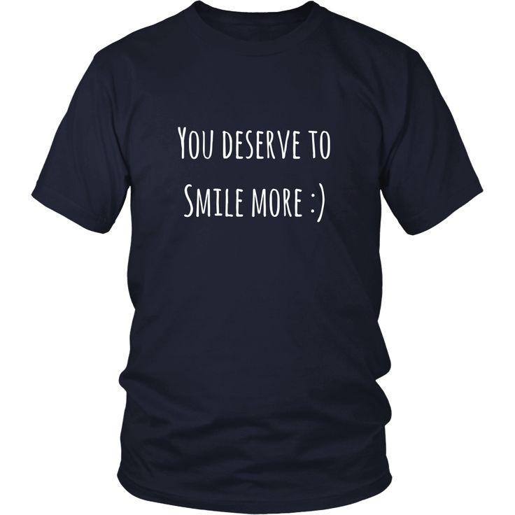 You Deserve to Smile More