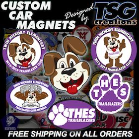 We DESIGN Custom Car Magnets at http://www.TSGcreations.com with #impact & #value. FACT: the best way to get your #message out is with #Car #Magnets, #CustomBalls (#Soccer #Basketball), & #Decals from TSG. For #carmagnets & more, call the REAL #tsgsports at http://www.TSGsports.com