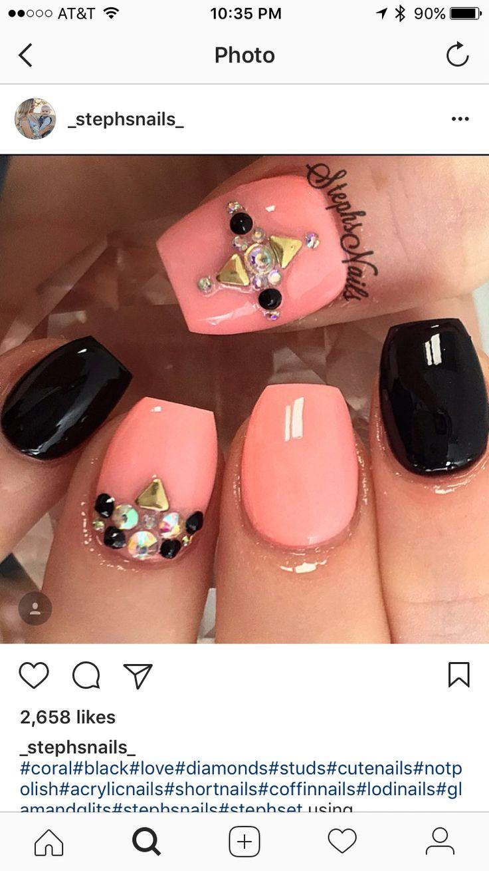 466 best Manicure & pedicure images on Pinterest | Nail design, Cute ...