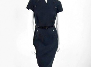 Used Christian Dior Women's Clothing Dresses | Christian Dior Navy