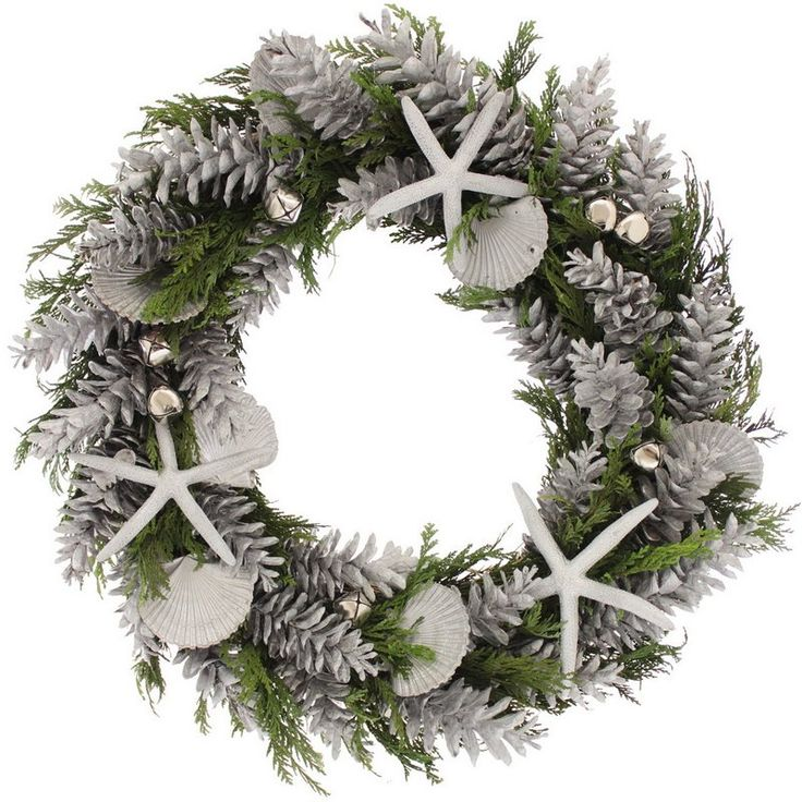 Seaside Holiday Wreath