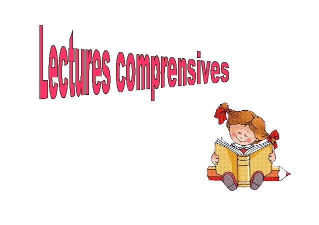 Lectures comprensives primer cicle primària by silvia via slideshare